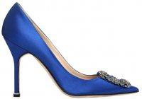 Manolo Blahnik предлагает синюю обувь