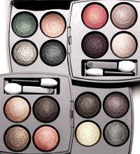 Модный дом Chanel представляет новую текстуру теней Les 4 Ombres