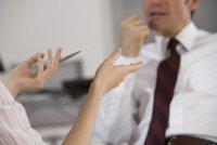 Язык жестов на собеседовании