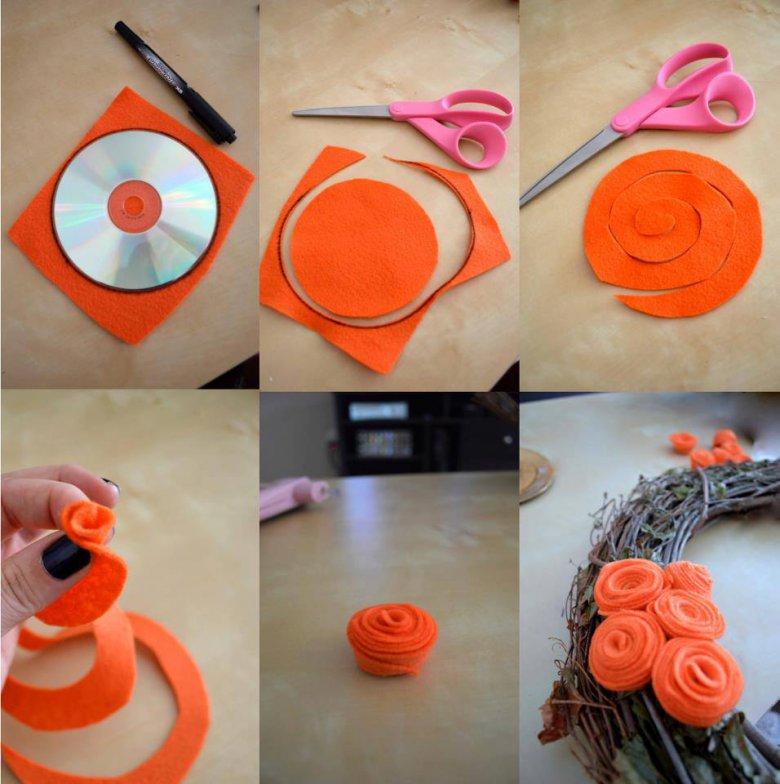Оранжевые идеи своими руками