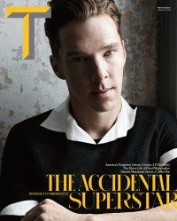 Бенедикт Камбербэтч на обложке T Style Magazine