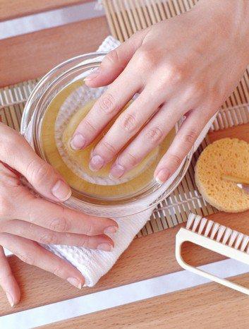 Домашний скраб для лица с клетчаткой