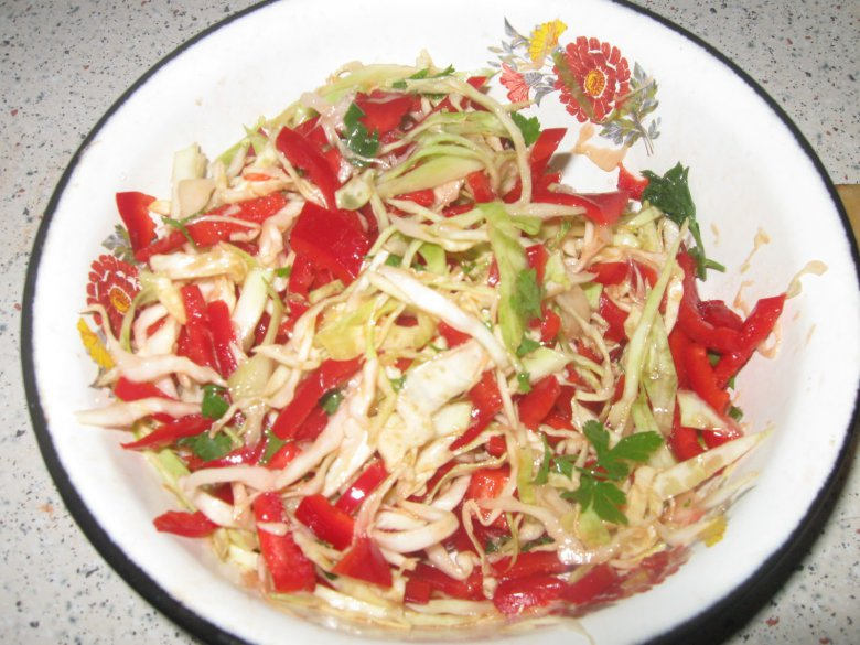 Фото салат осенний