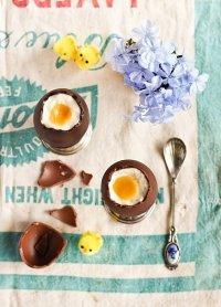 Шоколадные яйца с оригинальной начинкой