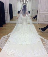 Свадебное платье Ким Кардашьян