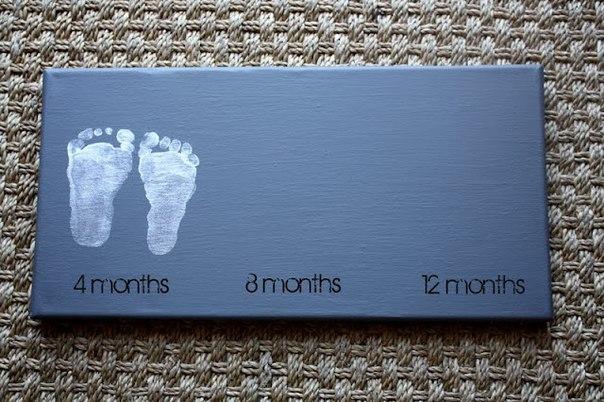 Памятная доска о первом годе жизни