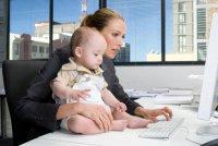 Ребенок в офисе: что делать