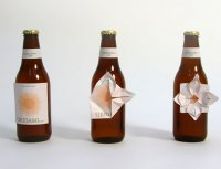 Креативная упаковка: пиво-оригами
