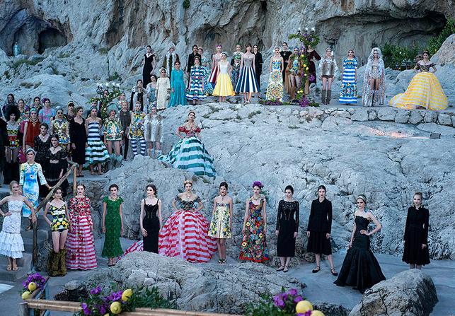 Кутюрная коллекция Dolce & Gabbana