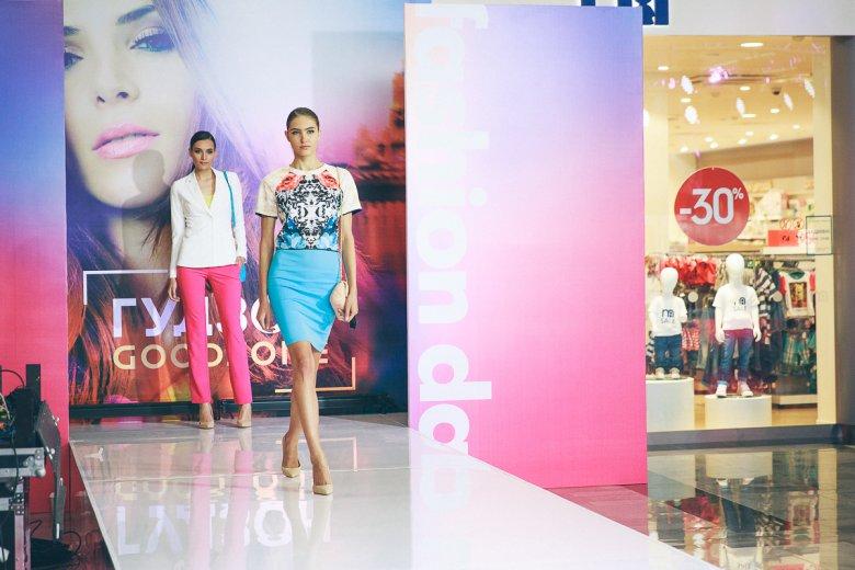 В ТЦ Гудзон прошел Fashion Day