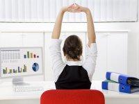 Упражнения от боли в спине на работе
