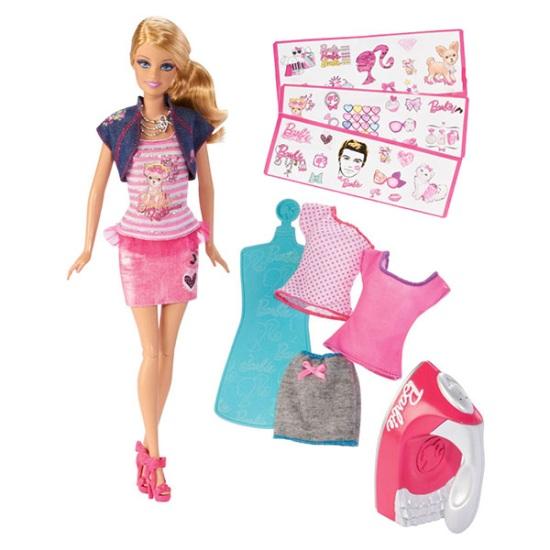 Стань дизайнером одежды вместе с Barbie®!