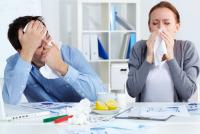 Как не простудиться в офисе