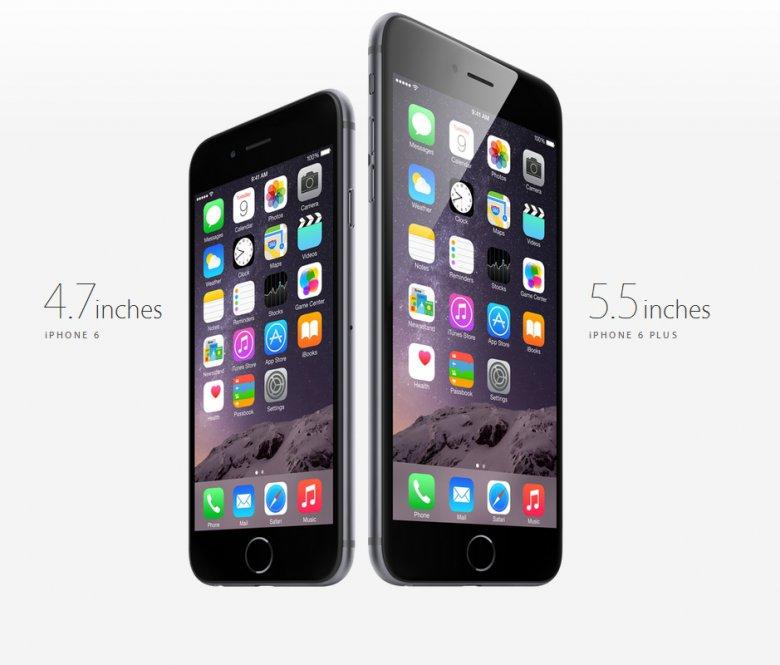 Выходит новый iPhone 6 и iPhone 6 Plus