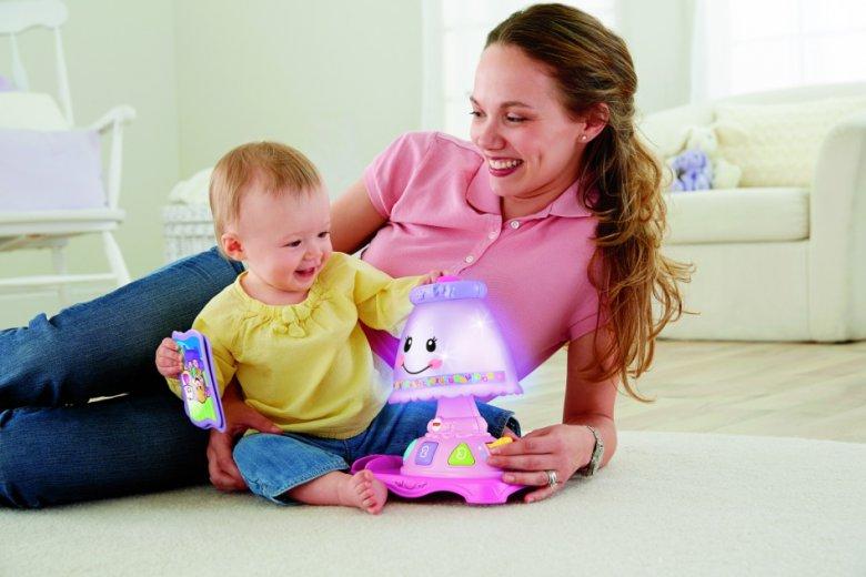 Обучающая лампа «Смейся и Учись» от Fisher-Price®.