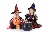 Идея для детской игры на Хэллоуин
