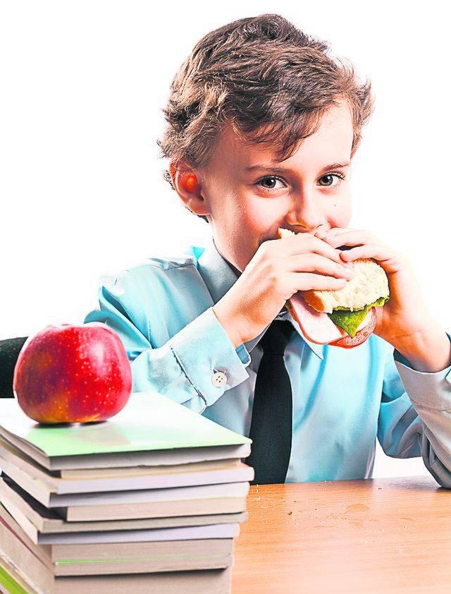Перекус в школе: что положить ребенку в портфель