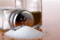 Устранение черных точек с помощью соли