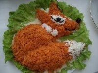 Салат «Лисичка»