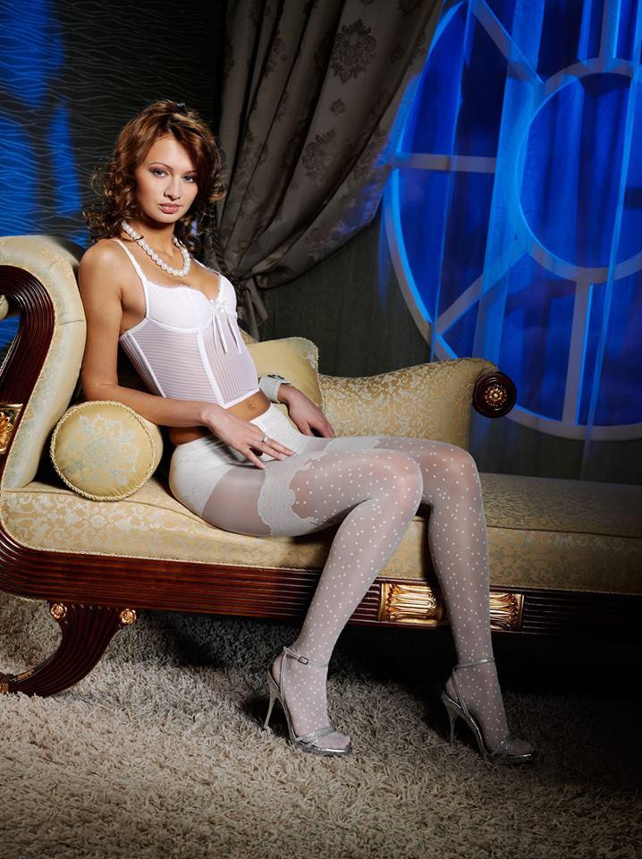 Анастасия Домани представила новую коллекцию колготок
