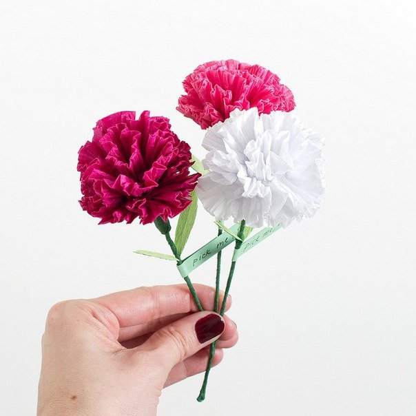 Как сделать не настоящие цветы 760