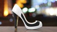 Туфли, которые меняют цвет