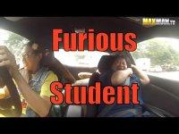 Форсаж 8, или как профессиональная гонщица разыгрывала инструкторов по вождению