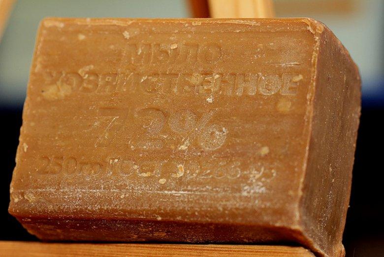 Целебная мазь из хозяйственного мыла при заболеваниях кожи