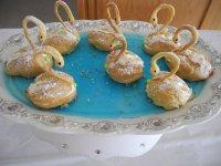 Заварные пирожные «Лебеди»