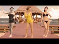 Эволюция бикини за 100 лет с Амандрой Черни