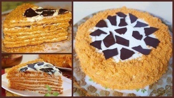 Торт «Сахара»