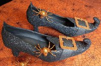 Туфли ведьмы на Хэллоуин