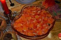 Фруктовый десерт на Хэллоуин