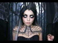 Макияж на Хэллоуин: королева ночи