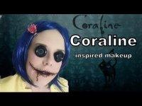 Простой и жуткий макияж на Хэллоуин