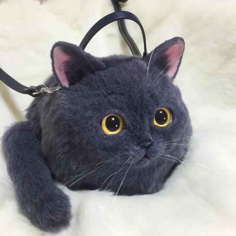 Японские сумки в виде котов
