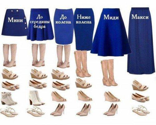 На заметку: какую обувь выбрать под юбку