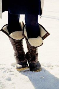 Как ухаживать за сапогами зимой