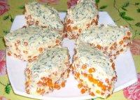 Суперидея на Новый год: бутербродные пирожные «Икорная сказка»