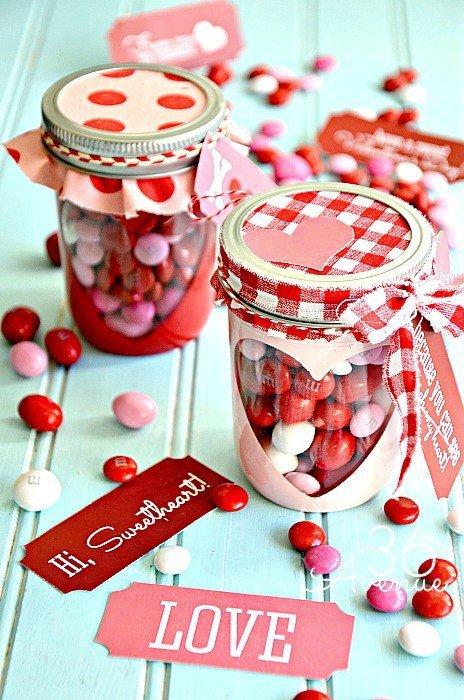 Идея для сладкого подарка на День святого Валентина
