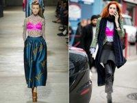 Тренд весны 2016: бюстгальтер поверх одежды