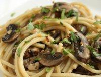 Меню в пост: спагетти с грибами