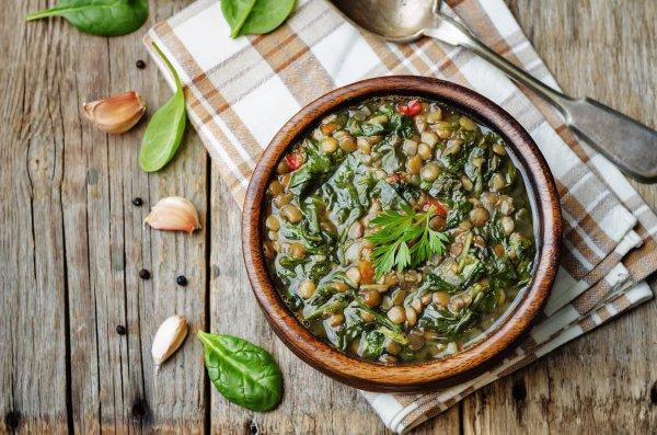 Меню в пост: чечевичный суп