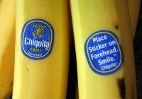 Что означают наклейки на бананах