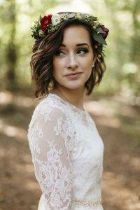 Венок для невесты: стильно и романтично