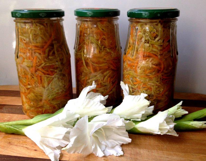 Салат на зиму: огурцы по-корейски