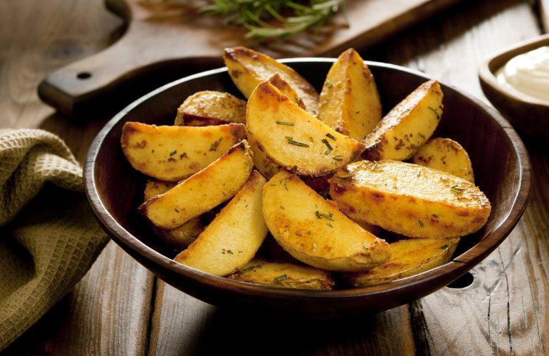 Правильный картофель по-деревенски