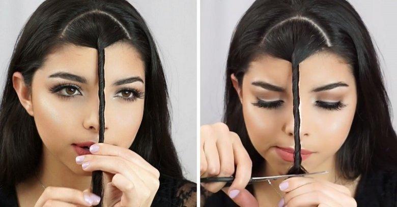 Как самому подстричь челку