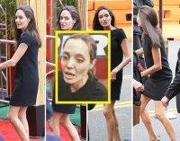 Анджелина Джоли слишком сильно похудела
