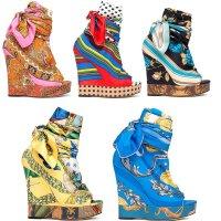 D&G 2012 модная обувь весна-лето